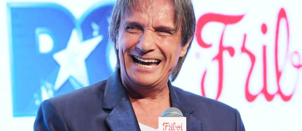 Roberto Carlos: o Rei disse que voltou a comer carne por indicação médica Foto: Marcos Alves / O Globo