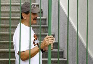 Roberto Jefferson agora ficará atrás das grades Foto: Pablo Jacob / O Globo