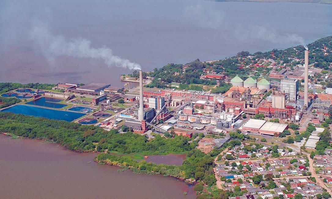 Reprise. Fábrica da CMPC Celulose Riograndense teve três miniblecautes em janeiro Foto: Divulgação