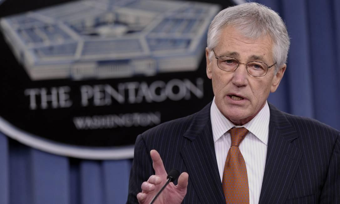 Chuck Hagel: Forças Armadas dos EUA mais enxutas Foto: Susan Walsh / AP