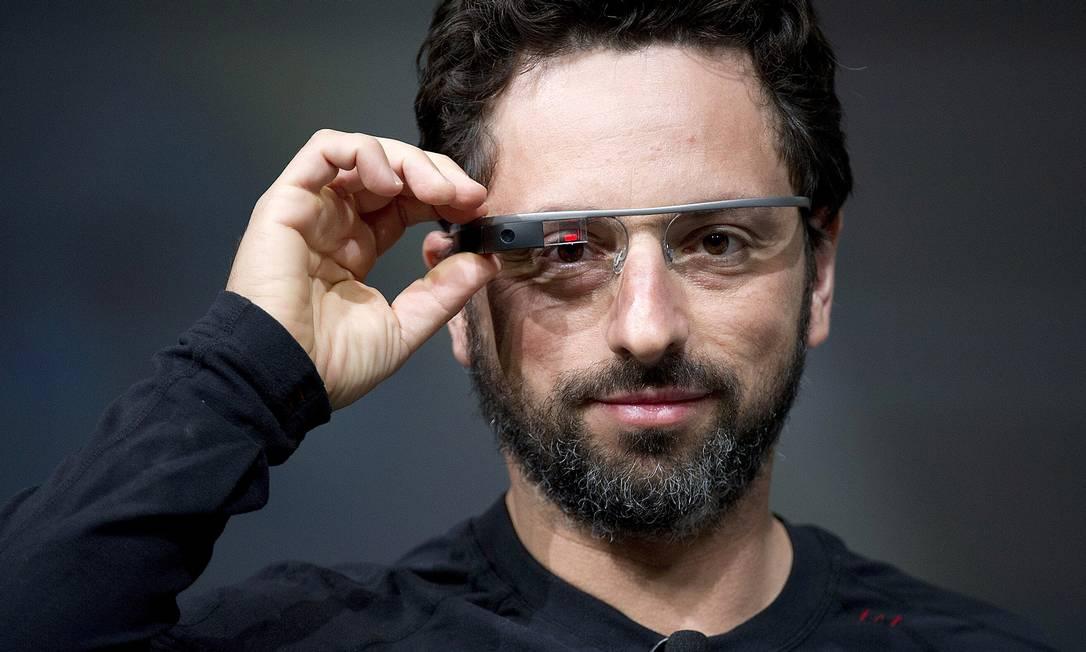 Sergey Brin, cofundador da Google e garoto-propaganda do Glass Foto: David Paul Morris / Bloomberg