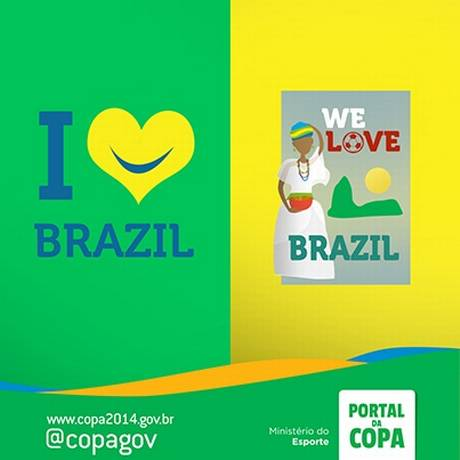 As imagens divulgadas pelo Ministério do Esporte Foto: Facebook do Portal da Copa / Reprodução