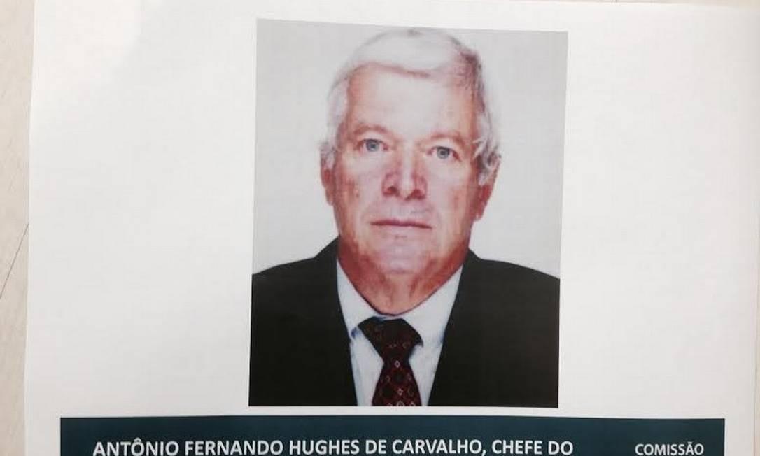 A Comissão Nacional da Verdade divulgou a foto de Antônio Fernando Hughes de Carvalho foi quem Foto: Reprodução