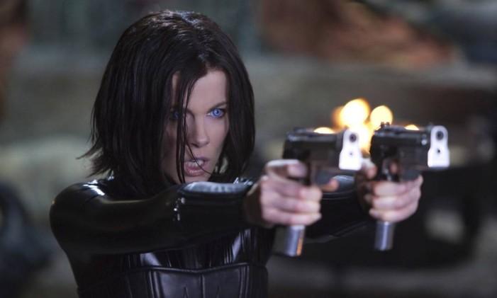 Kate Beckinsale no filme 'Anjos da noite' Foto: Divulgação