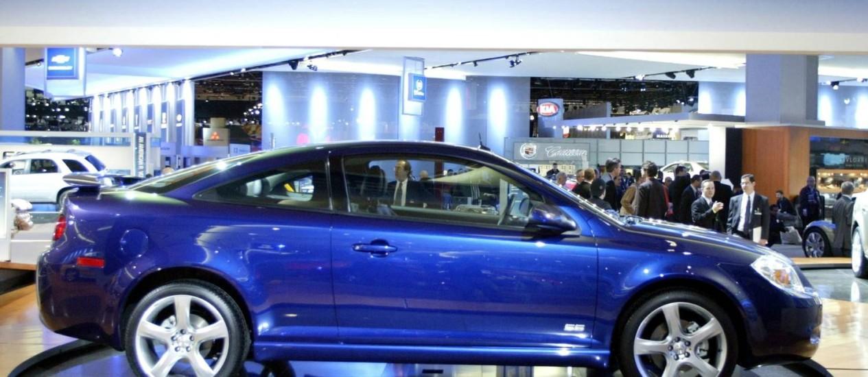 O Chevrolet Cobalt SS 2005 é um dos modelos convocados para o recall Foto: GREGORY SHAMUS/Reuters/5-1-2004