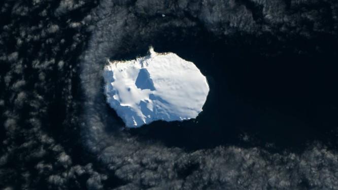 A inóspita Ilha Bouvet: longe de tudo e todos Foto: Nasa