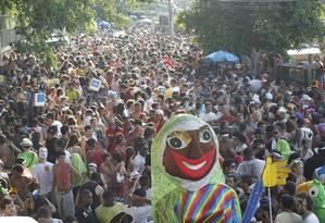 Bloco das Carmelitas desfila na tarde desta sexta-feira em Santa Teresa Foto: Arquivo