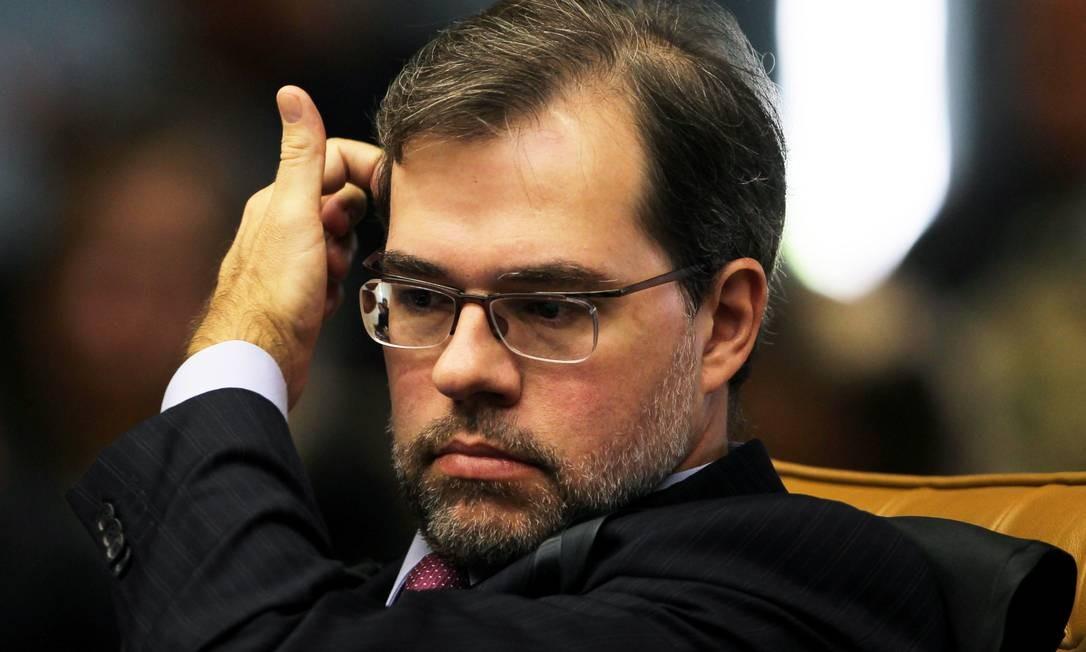 O ministro Dias Toffoli, do Supremo, assume nesta terça-feira a presidência do TSE Foto: Gustavo Miranda/21-6-2012 / Agência O Globo