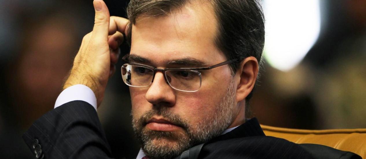 O ministro Dias Toffoli Foto: Gustavo Miranda/21-6-2012 / Agência O Globo