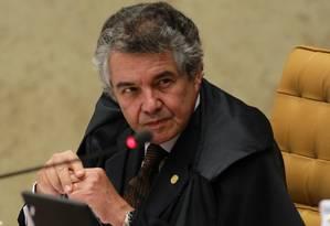 O ministro do STF, Marco Aurélio de Mello Foto: Ailton de Freitas/22-8-2012 / Agência O Globo
