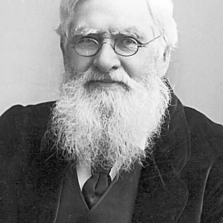 Alfred Wallace: teoria da Evolução não se aplicaria à mente humana, que teria origem divina Foto: Reprodução
