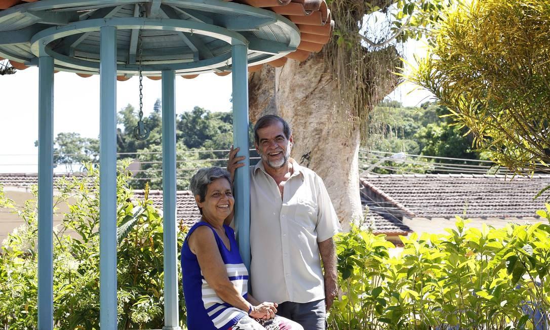 Ilha de Paquetá sendo procurada por novos moradores e turistas, como Afonso Fernandes e Luiza Fernandes Foto: Pablo Jacob / Pablo Jacob