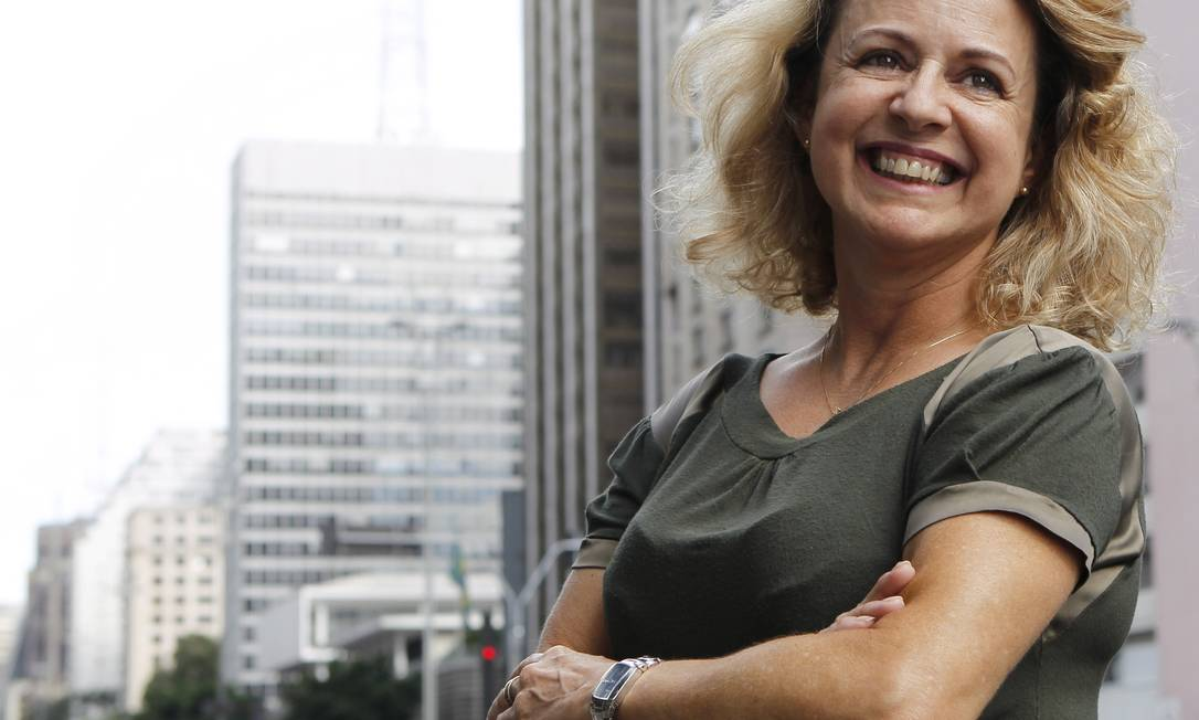 Sílvia Almeida, portadora do vírus HIV e organizadora de campanhas de prevenção Foto: Michel Filho / Fotos de Michel Filho