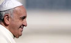 Papa Francisco em audiência na Praça de São Pedro na Quarta-feira de Cinzas Foto: ANDREAS SOLARO / AFP