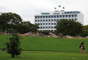 O prédio da reitoria da USP, única universidade sul-americana no ranking da 100 melhores instituições do mundo Foto: Francisco Emolo/USP