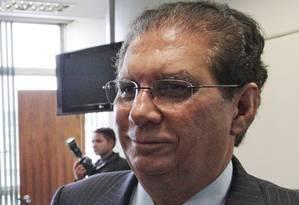Assessoria do senador informou que ele não iria se manifestar sobre o grande número de faltas, pois estava no interior do Pará Foto: André Coelho / Agência O Globo