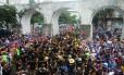 Oito mil pessoas foram ao Quizomba Foto: Divulgação/ Riotur