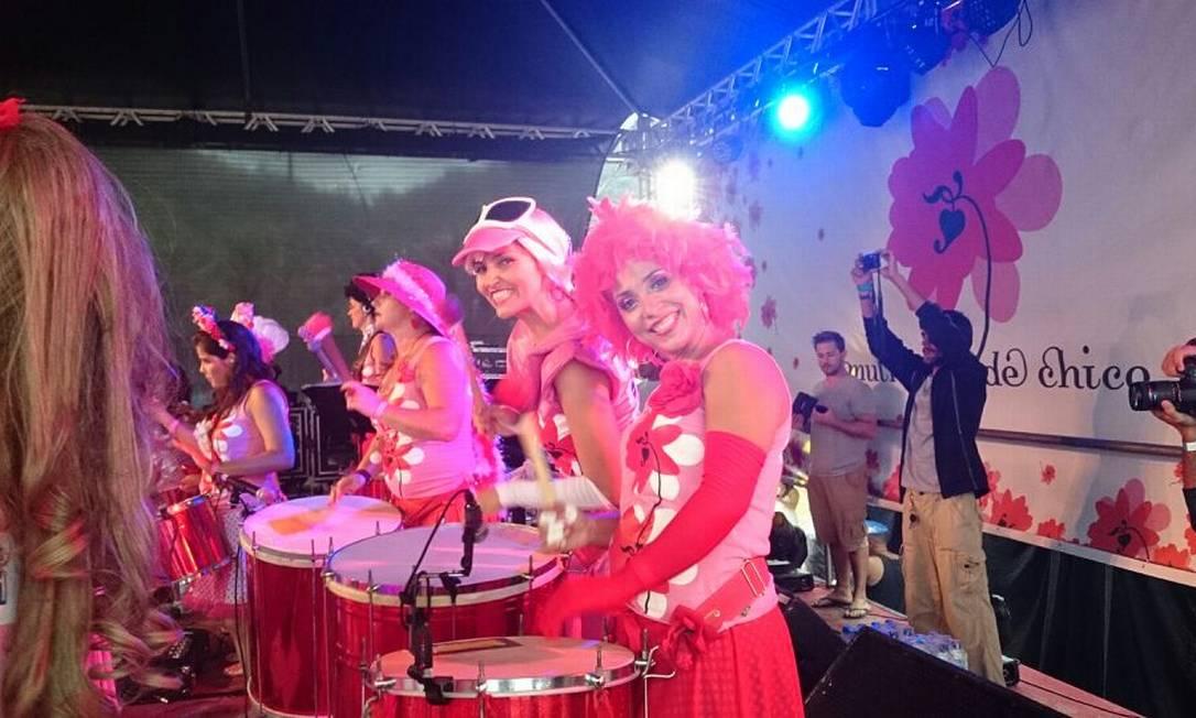 Mulheres de Chico tocam no Leme neste sábado Foto: Flora Rangel