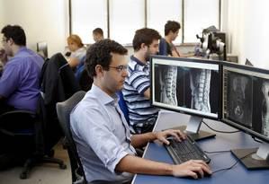 A área de saúde é uma das que mais atraem novos empreendedores Foto: O Globo/Simone Marinho