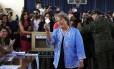 Michelle Bachelet no dia de votação: promessas de reformar polêmico sistema de educação chileno