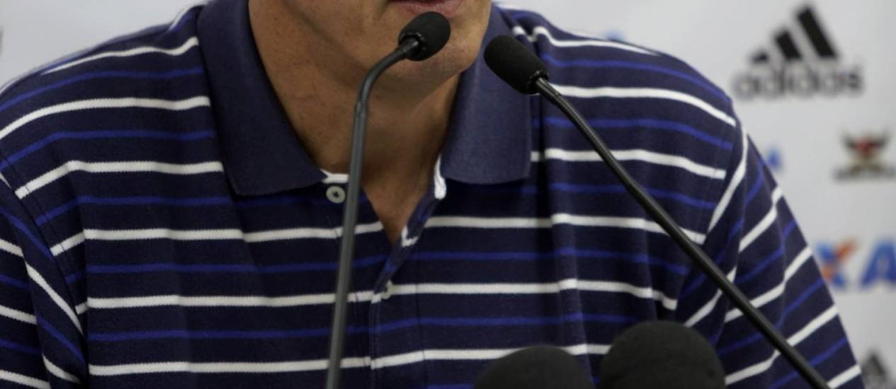 Vice-presidente de futebol do Flamengo, Wallim Vasconcellos Foto: Cezar Loureiro / O Globo