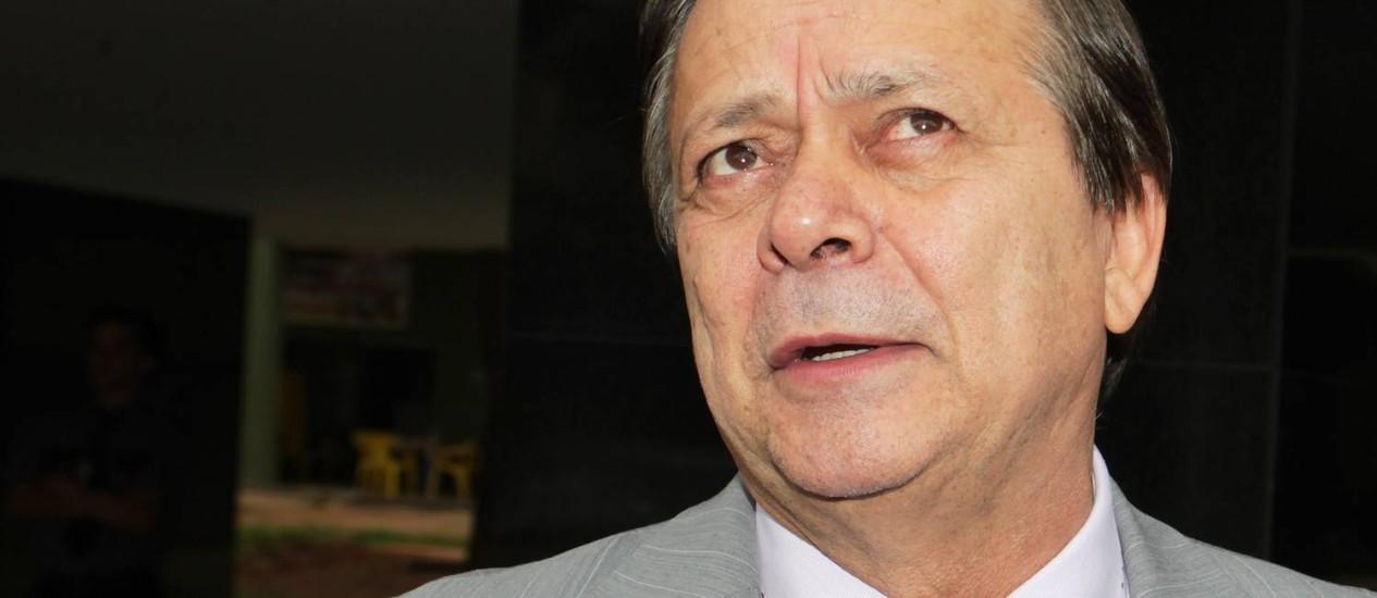 O líder do PTB, Jovair Arantes Foto: Ailton de Freitas / Agência O Globo - 11/03