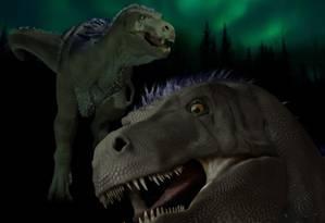 Fósseis encontrados tem 70 milhões de anos Foto: ILLUSTRATION BY KAREN CARR