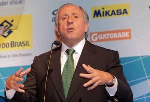 Ary Graça renunciou a presidência da CBV, cargo que ocupava desde 1997 Foto: Eliária Andrade