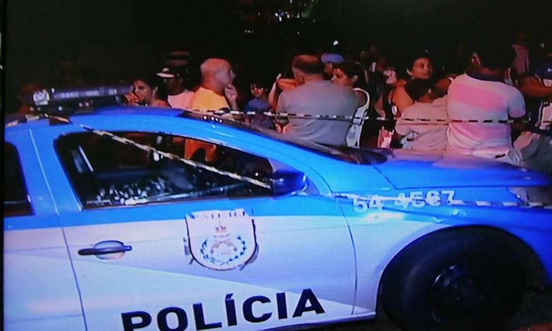 Ataque deixa quatro mortos em Petrópolis Foto: Rogério de Paula / Reprodução InterTv