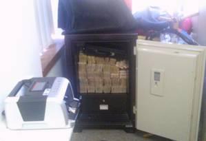 A Polícia Federal fez operação contra a lavagem de dinheiro em seis estados e no Distrito Federal Foto: Divulgação PF