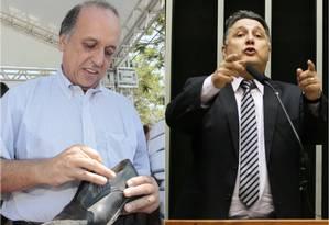 Pré-candidatos ao governo do Rio Foto: Montagem / Divulgação e O Globo