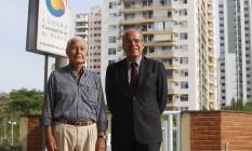 Antônio Carlos Guimarães, à esquerda, e Jorge Jaber, diretores da CCBT Foto: Felipe Hanower / Agência O Globo