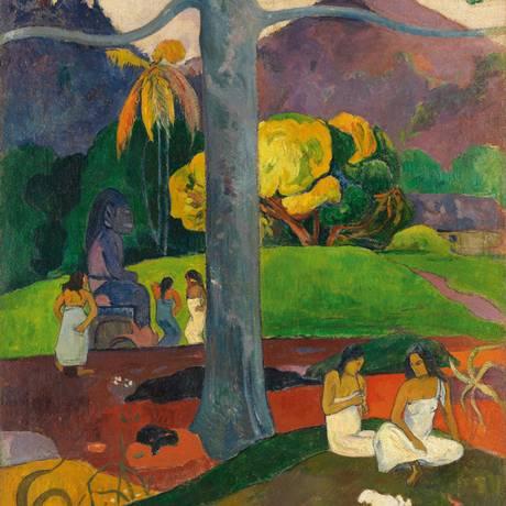 """Óleo sobre tela, """"Mata mua"""", em exposição no MoMA Foto: Divulgação/Museo Thyssen-Bornemisza/Scala/Art Resource, NY"""