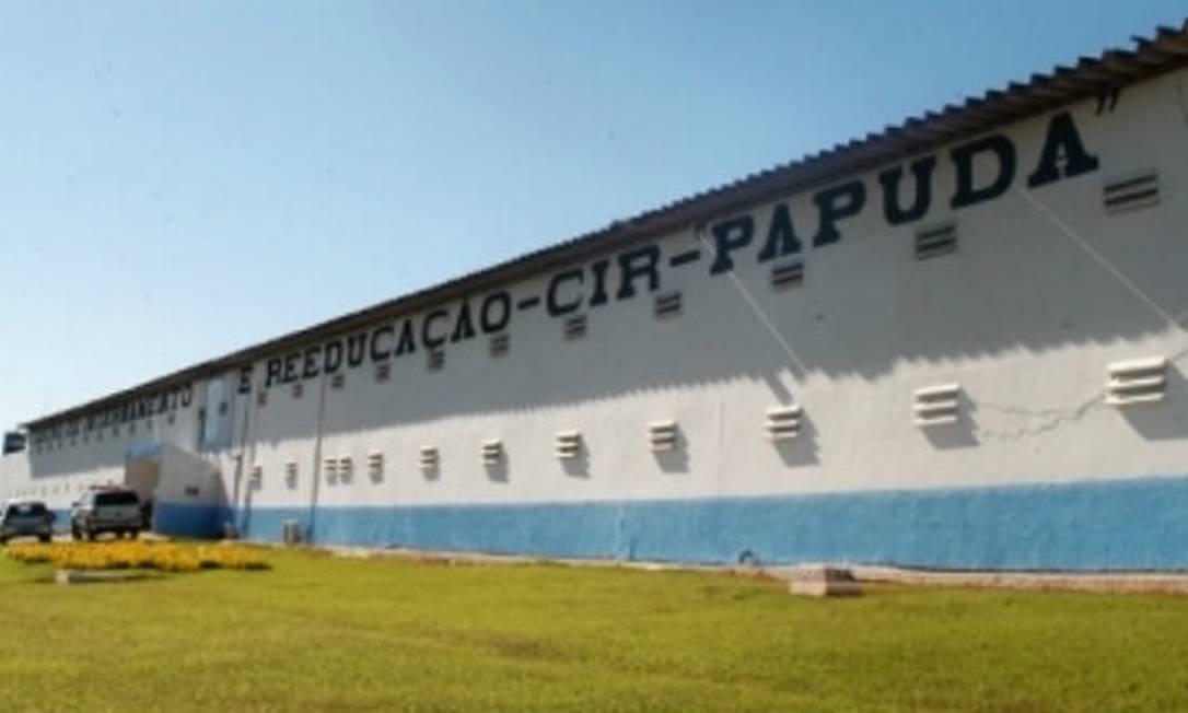 Fachada do presídio da Papuda, em Brasília Foto: Reprodução