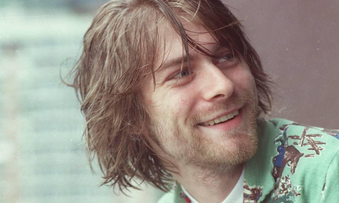 O cantor Kurt Cobain, que morreu em abril de 1994 Foto: Márcia Foletto