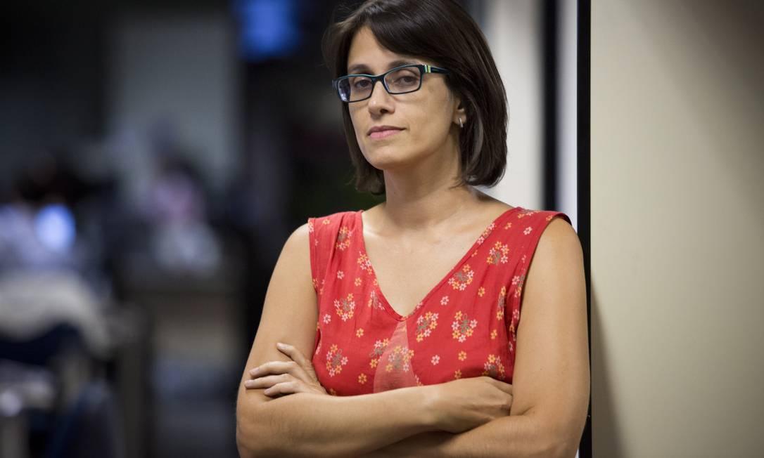 Nadine Borges, da Comissão da Verdade Foto: O Globo / Mônica Imbuzeiro