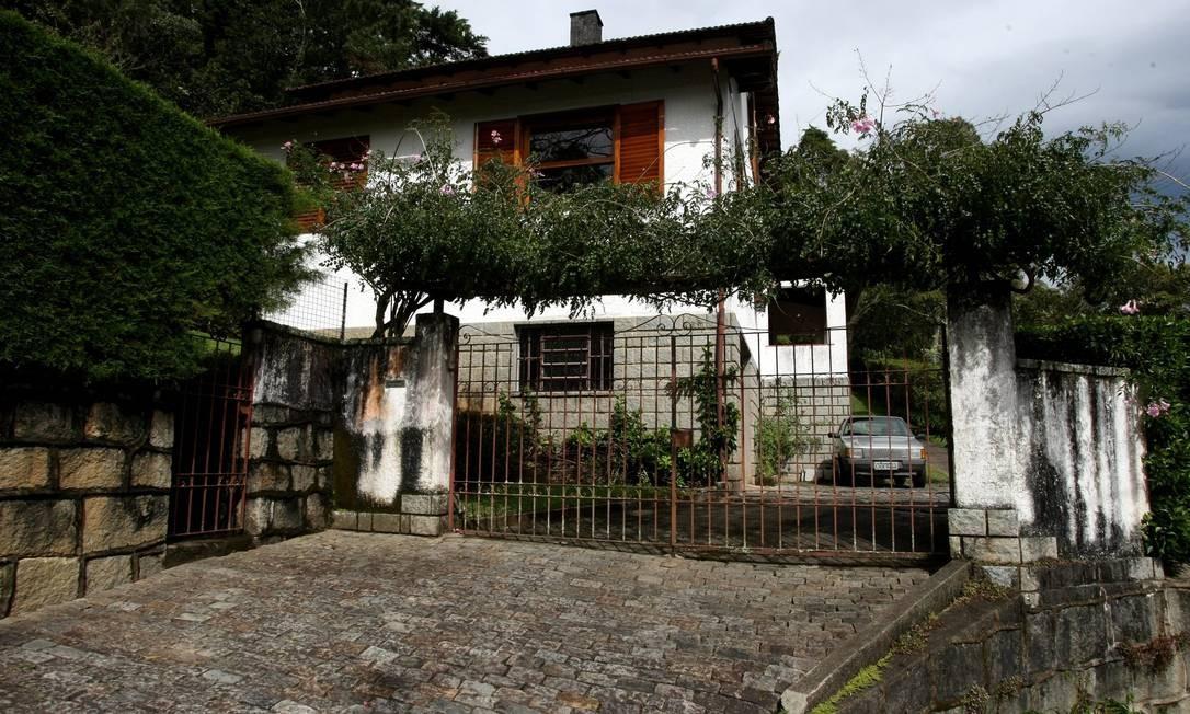 Casa da morte em Petrópolis Foto: Custódio Coimbra / O Globo