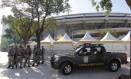 Militares atuaram na Copa das Confederações: efetivo de prontidão na Copa pode ser 50% maior Foto: O Globo / Marcelo Carnaval/19-6-2013