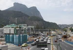 Problemas constantes para os moradores da Zona Sul Foto: Guilherme Leporace / O Globo
