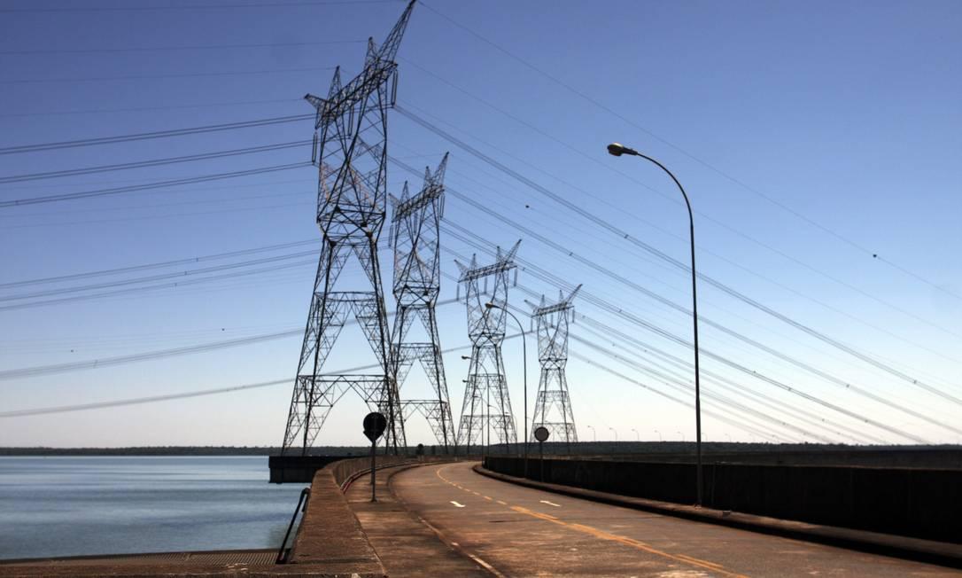 Quase 40% da energia prevista para entrar em operação até 2026 depende de obras atrasadas Foto: Dado Galdieri / O Globo