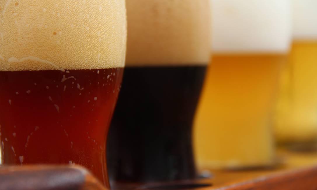 Cervejas são proibidas durante expediente na Lloyd's of London Foto: Bruno Agostini / O Globo