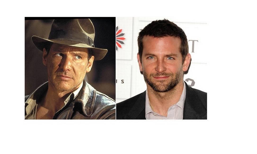 Bradley Cooper como Indiana Jones? Foto: Reprodução