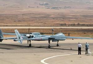 O veículo aéreo não tripulado (Vant), também conhecido como drone Foto: Polícia Federal / Divulgação