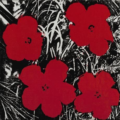 """""""Flowers"""", de Andy Warhol Foto: Divulgação"""