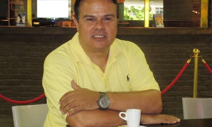 Rubens Lima Jr., em entrevista à coluna Dois Cafés e a Conta Foto: Mauro Ventura / Agência O Globo