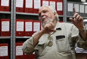 Gaúcho guarda no Rio Grande do Sul mais de 100 caixas de documentos que comprovam não só a participação de militares de na Operação Condor, como também as atrocidades cometidas na época Foto: Nabor Goulart / Nabor Goulart