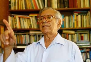 Modesto da Silveira foi o advogado que mais defendeu brasileiros na ditadura Foto: Pedro Kirilos / Pedro Kirilos