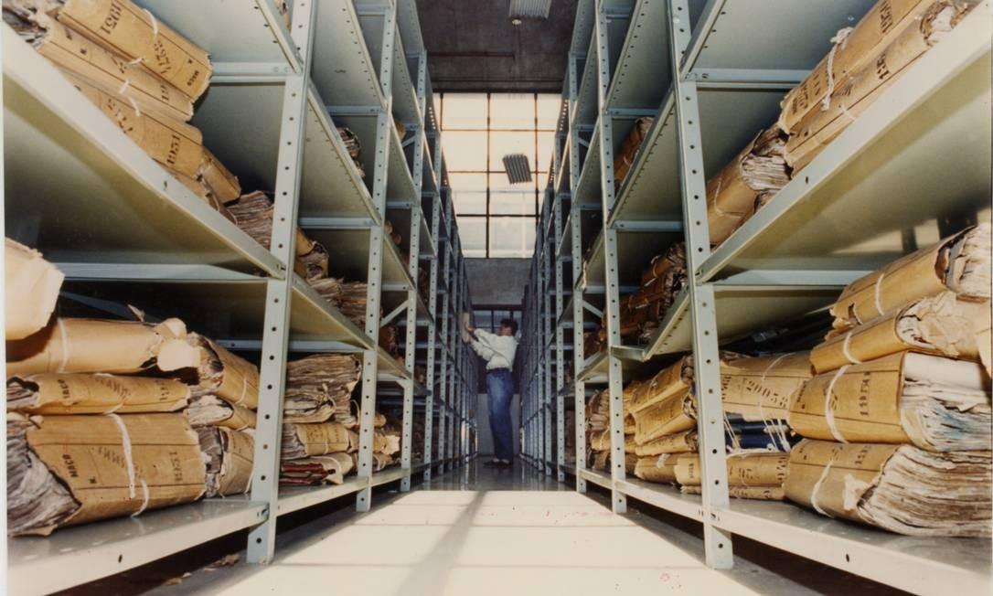 Durante a ditadura, o Departamento de Censura analisou milhares de peças de teatro, música, filmes e telenovelas, vetando a exibição de parte delas Foto: Glaucio Dettmar/15-12-1992