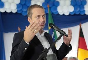 Segundo o Ibope, em dezembro, Eduardo Campos tinha aprovação de 58% dos pernambucanos Foto: Hans von Manteuffel