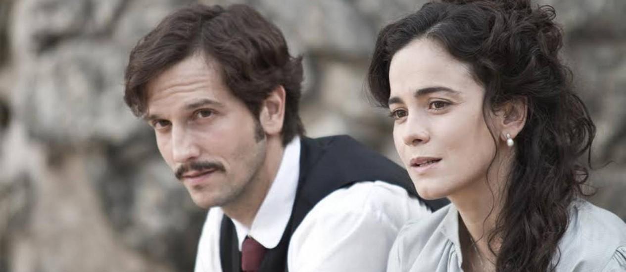 """Cena do filme """"Muitos homens num só"""", que traz Vladimir Brichta e Alice Braga no elenco Foto: Divulgação"""